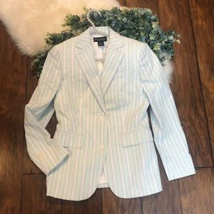 Brook Brothers pastel striped woman's blazer